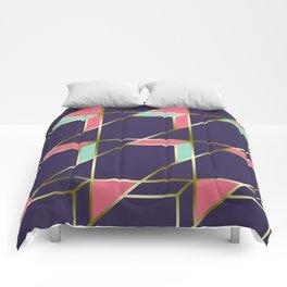 Ultra Deco 1 #society6 #ultraviolet #artdeco Comforters