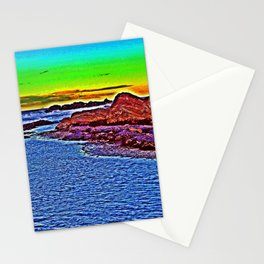 Saturated Surf  Stationery Cards