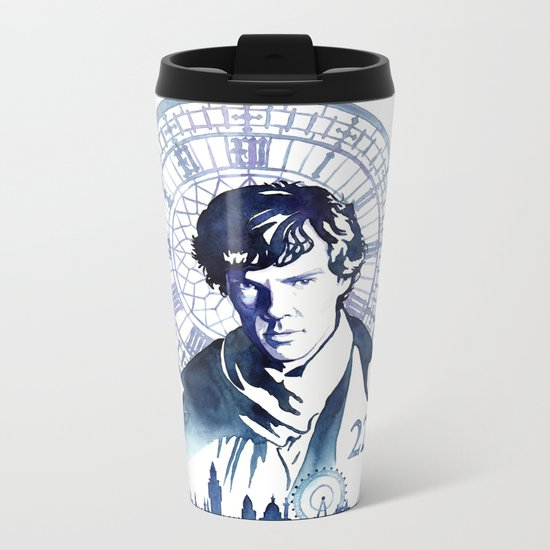 Sherlock Metal Travel Mug