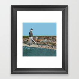 Summer is over! Framed Art Print