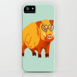 Benevolent Boar iPhone Case