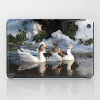 ducks iPad Cases featuring Ducks by OSCAR GBP