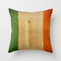 ireland Throw Pillows featuring Ireland by NicoWriter