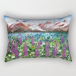 Carpathian in Lupine Rectangular Pillow
