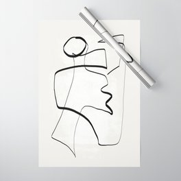 Abstract line art 6 Wrapping Paper