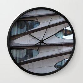 Concrete Jungle Waves Wall Clock