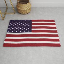 American flag - painterly treatment Rug