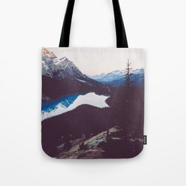 Peyto Lake - Banff National Park Tote Bag
