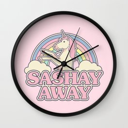 Sashay Away Wall Clock