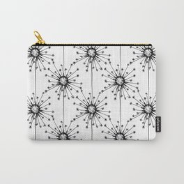Dandelions floral pattern Carry-All Pouch