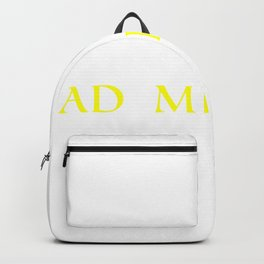 Semper ad meliora Motivated Person Gift Backpack
