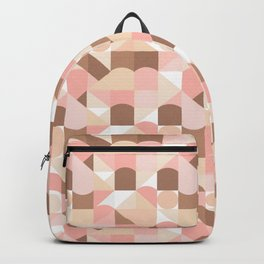 Abstract Carnival - Blush Sand Backpack