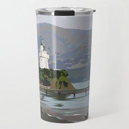Akaroa Lighthouse Travel Mug