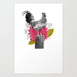Galo Art Print