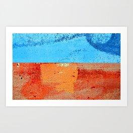 Sea and Beach Art Print