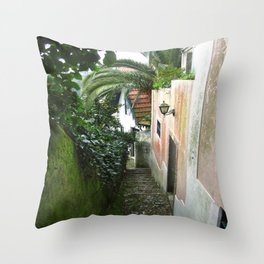 Sintra: Orange Tree Throw Pillow