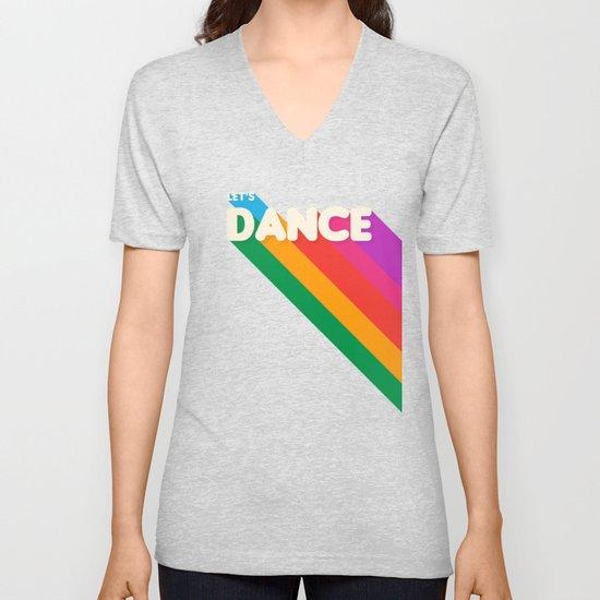 RAINBOW DANCE TYPOGRAPHY- let's dance by happyplum