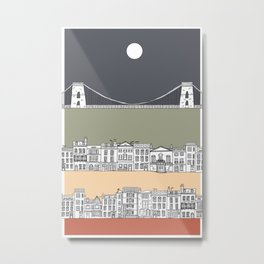 CLIFTON MOON Metal Print