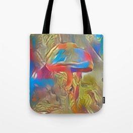 Paler Colorful Shroom World Tote Bag