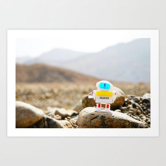 """Is this Mars?"" Art Print"