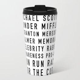 Michael Scott's Fun Run - the Office Travel Mug