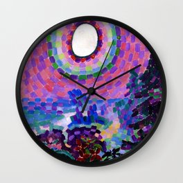 Landscape At Disc - Digital Remastered Edition Wall Clock