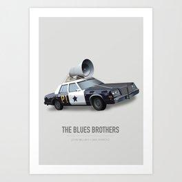 The Blues Brothers - Alternative Movie Poster Art Print