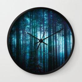 Waking Wall Clock