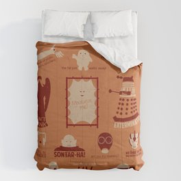 Doctor Who | Aliens & Villains (alternate version) Comforters