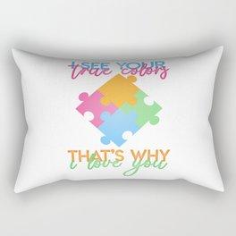 Autism Colors v1.0 Rectangular Pillow