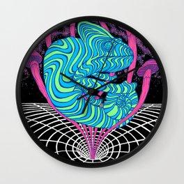 Inter-dimensional Chameleon Wall Clock