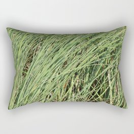 River and lakes in the countryside Rectangular Pillow