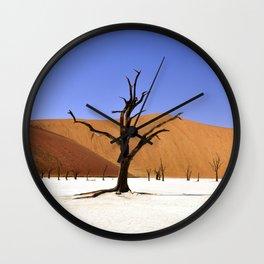 desert tree 4 Wall Clock