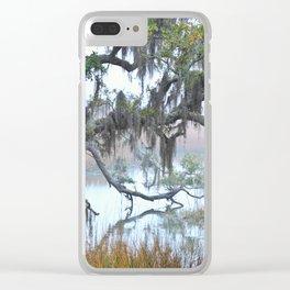 Daniel Island Marsh 1 Clear iPhone Case