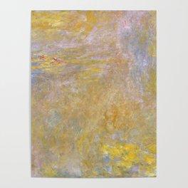 Sea-Roses (Yellow Nirwana) by Claude Monet Poster