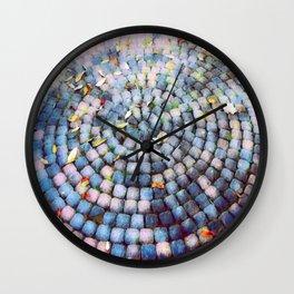 Stone circle Wall Clock