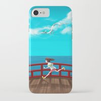 spirited away iPhone & iPod Cases featuring Spirited Away by IllustrateKate