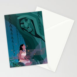 Pocahontas Spirit Stationery Cards