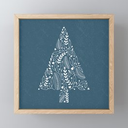 Festive Fir Framed Mini Art Print