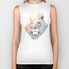 If I roar (The King Lion) Biker Tank