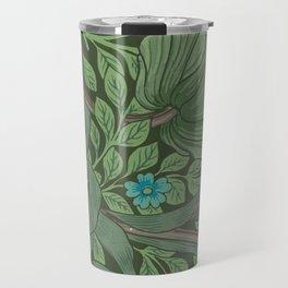 """William Morris """"Forget-Me-Nots"""" (""""Pimpernel"""" detail) Travel Mug"""