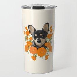 Poppy Dog Travel Mug