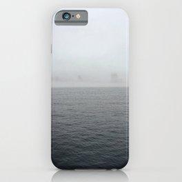 Through the fog lies NYC iPhone Case