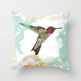 Hummingbird Ayre Serene Dream Throw Pillow