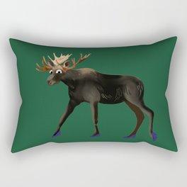 Moose in heels  Rectangular Pillow