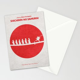 Seven Samurai Stationery Cards