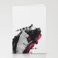 war Stationery Cards featuring War by Alexandru