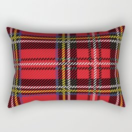 red kilt Rectangular Pillow