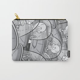 We Come In Peace BW Carry-All Pouch