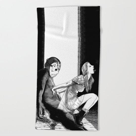 asc 563 - Le rite de passage (The prom night) Beach Towel